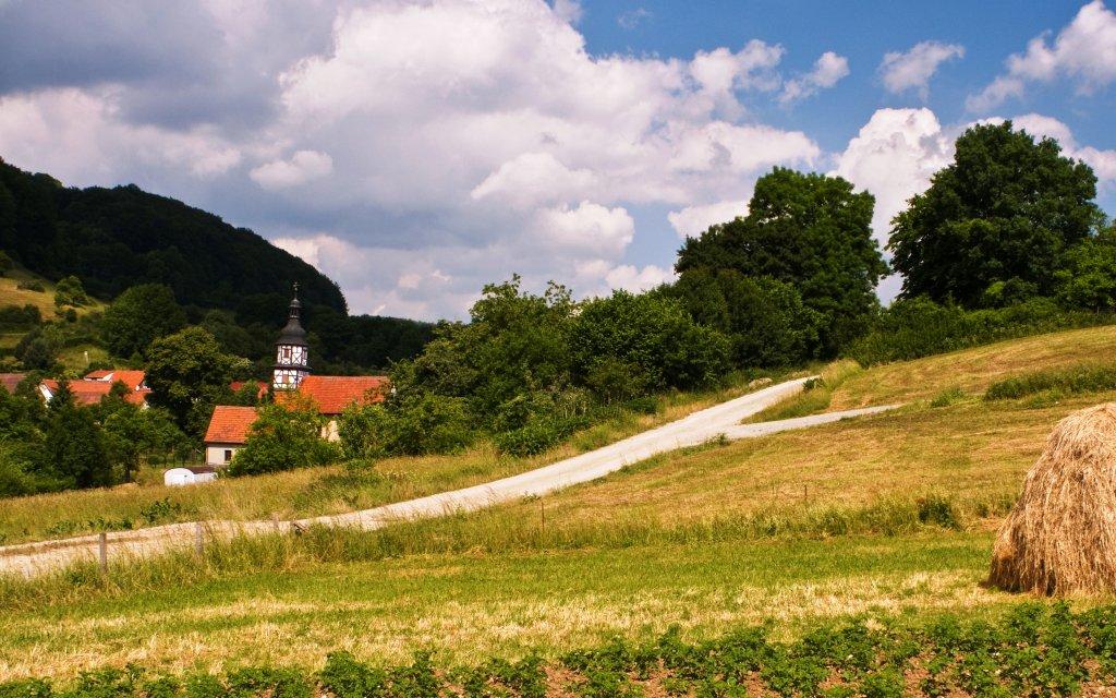 Dorfkirche im Eichsfeld