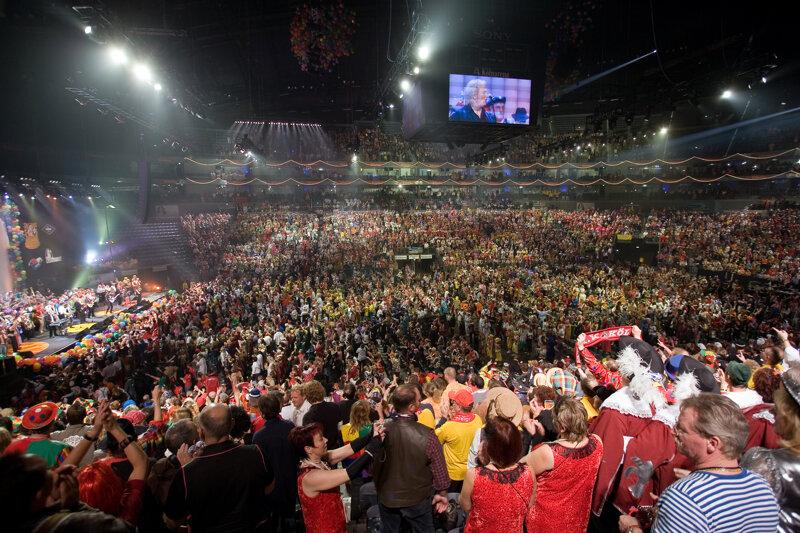 Karneval in der Lanxess Arena Köln