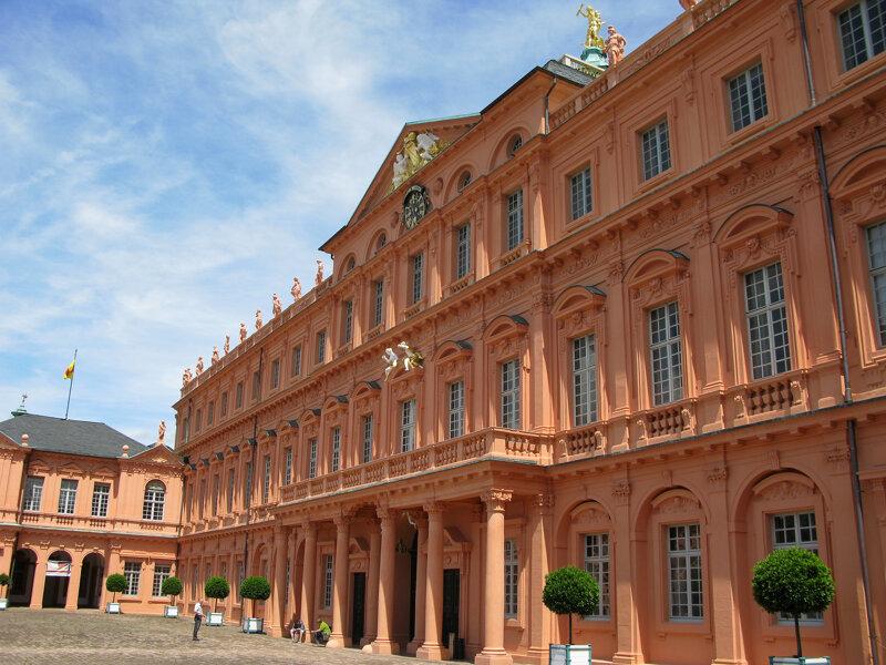 Das Residenzschloss in Rastatt