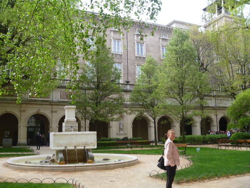 Jardins du Palais des Beaux Arts Lyon