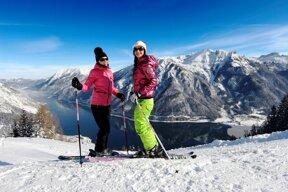 Skifahren in Weihnachtsurlaub