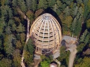 Baumturm Luftaufnahme Erlebnis Akademie AG