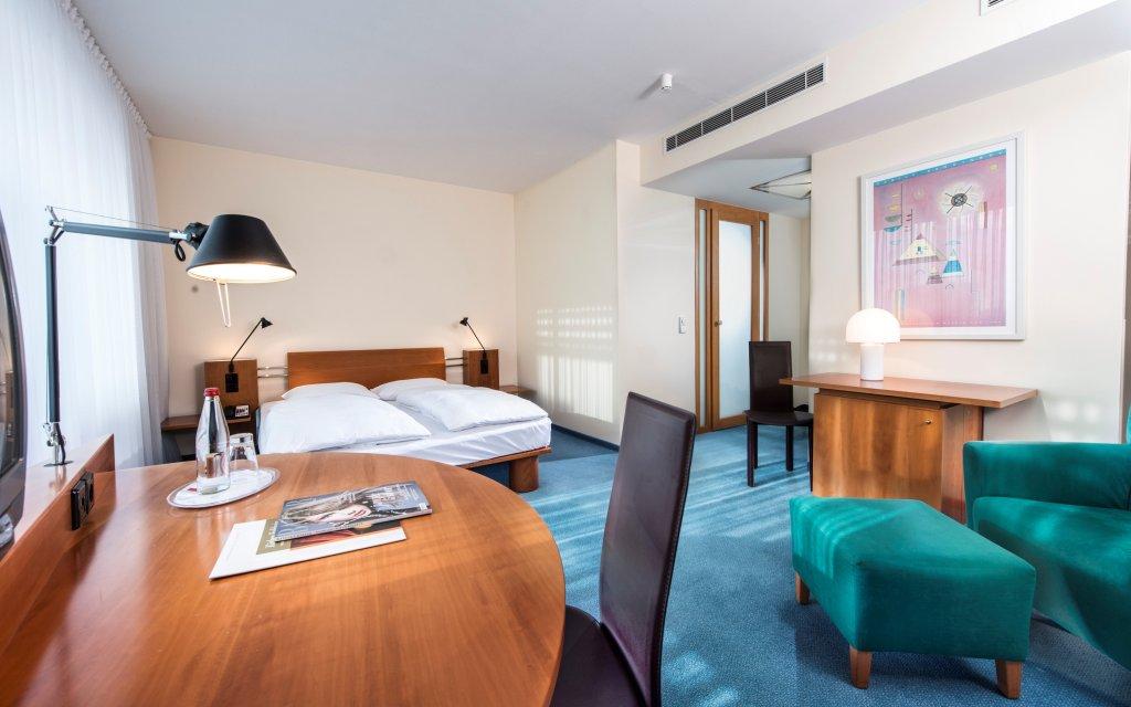 Dessau Radisson Blu Fürst Leopold Hotel Zimmer Doppelzimmer