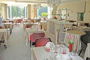 Romantik Hotel Bel Air Restaurant 1 Foto AB