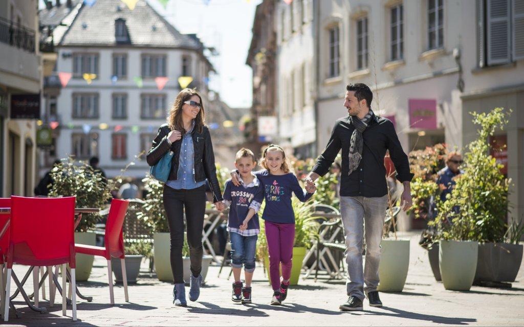 Familien im Ortszentrum Haguenau