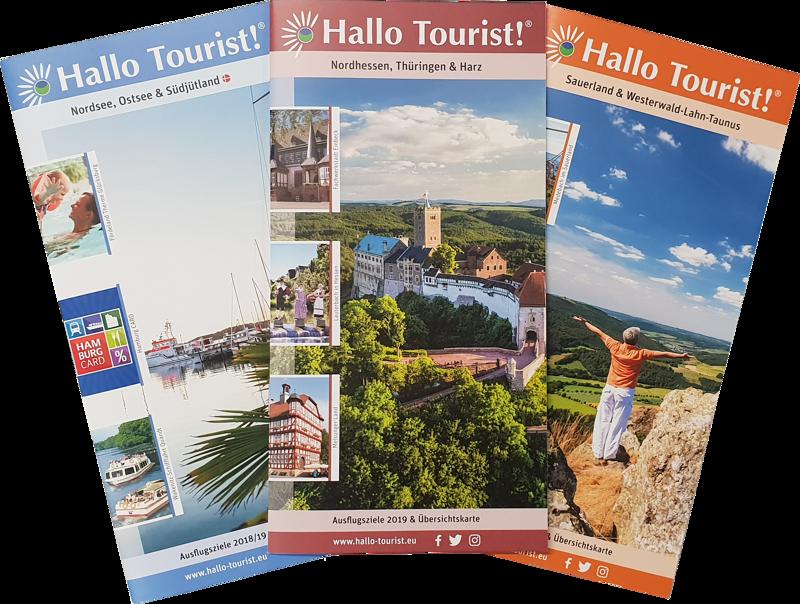 Hallo Tourist! Broschüren