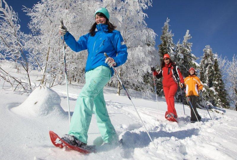 Schneeschuhwandern im Oberwiesenthal
