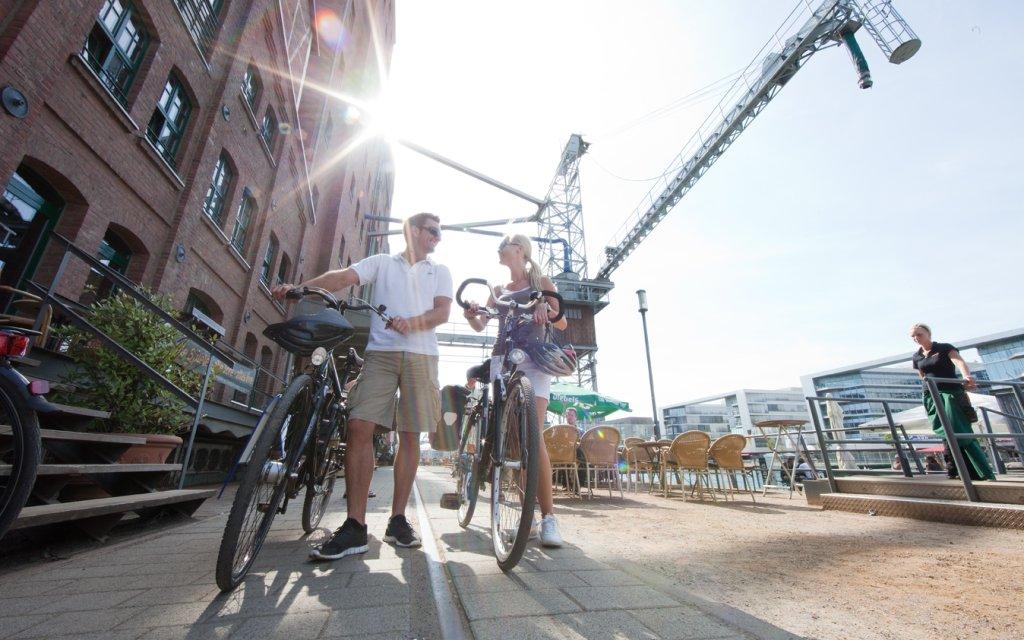 Radfahrer Ruhrtalradweg