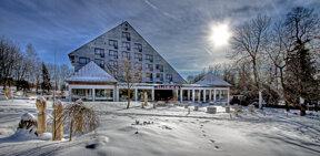 Hotel Winter außen
