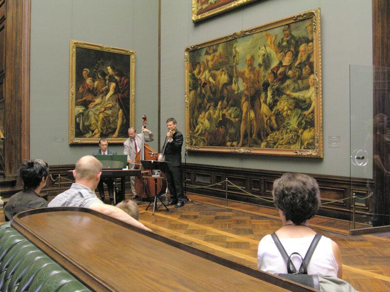 Museumsnacht Gemäldegalerie Alte Meister© Frank Exß