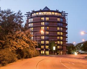 Aussenansicht Victors Residenz Hotel Frankenthal © Barbara Heinz