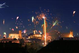 Kaiserburg Feuerwerk