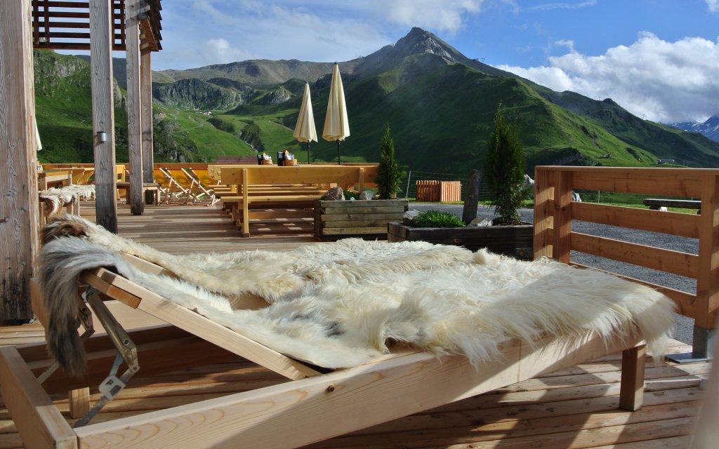 Ischgl Hotel Gipfelherz Terasse