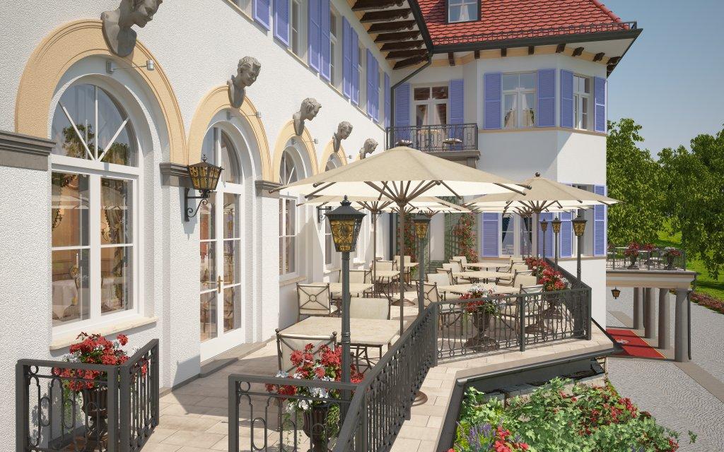 Robenstein Hotel & SPA Terrasse
