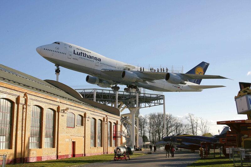 Lufthansa Jumbojet C Technik Museum Speyer