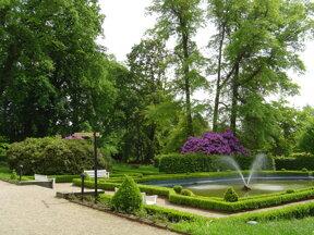 Barockgarten2 Schloss Schweinsburg