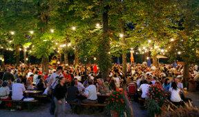 Ein Abend im Biergarten Foto Tommy Loesch, München Tourismus
