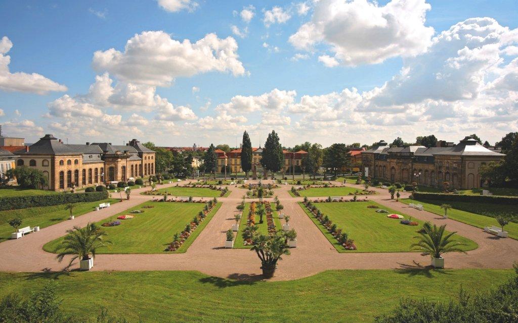 Schloss mit Schlosspark in Gotha