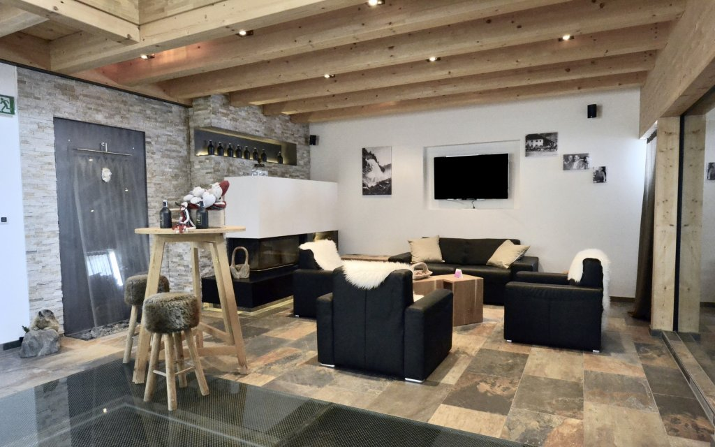 Aparthotel Ambiente Umhausen Lounge Lobby