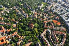 Luftbild Paulusviertel c Stadt Halle Fechner & Tom