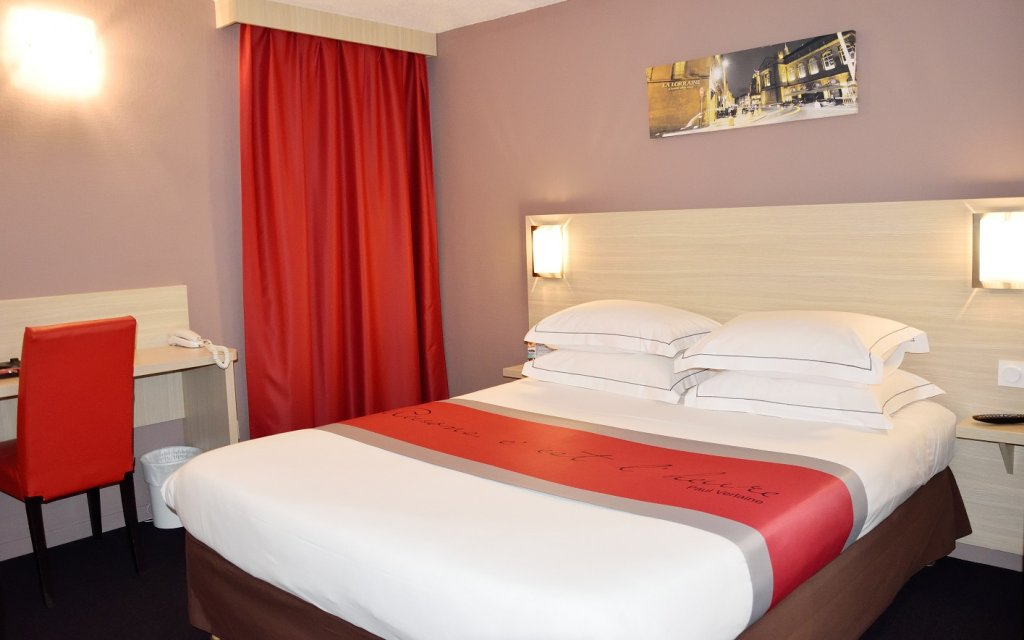 Metz Comfort Hotel Metz Woippy Zimmer Doppelzimmer