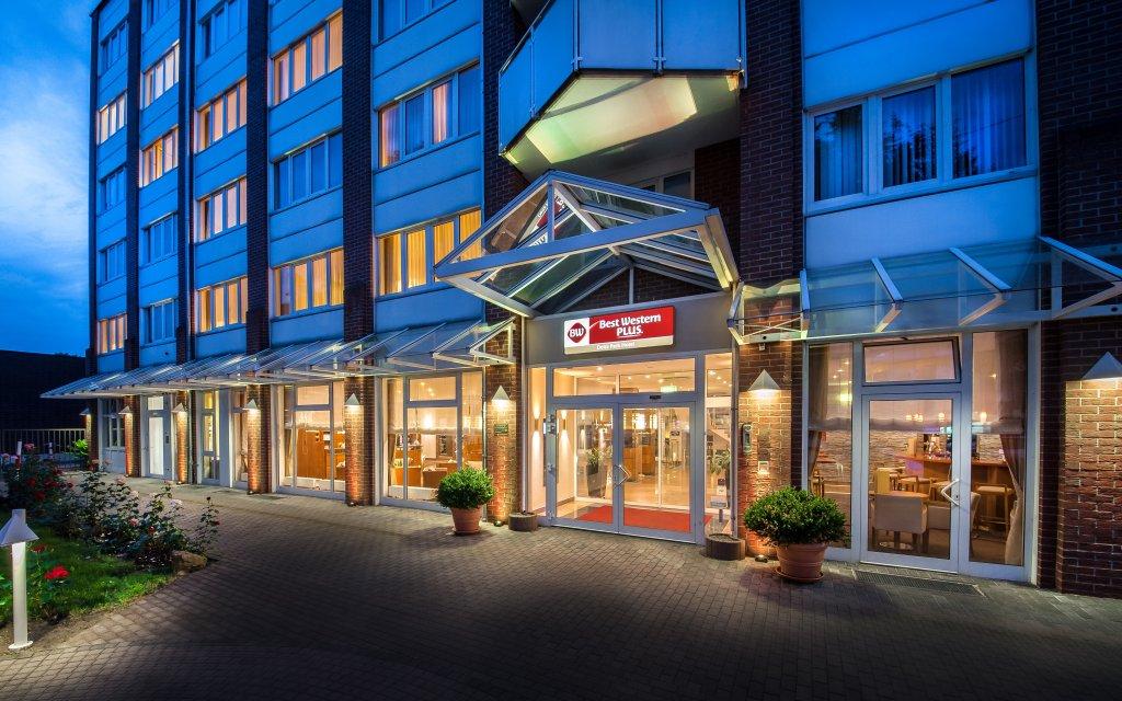 BEST WESTERN Plus Delta Park Hotel Mannheim Außenansicht