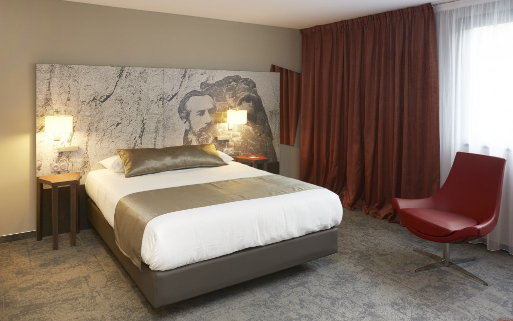 Quality Hotel Belfort Centre Zimmer Doppelzimmer