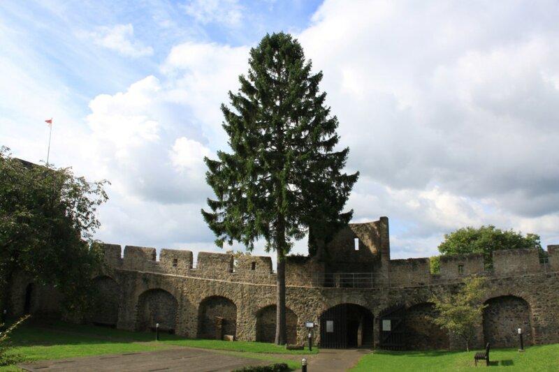 Stadtmauer in Hillesheim