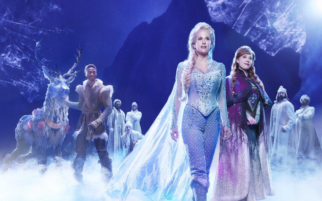 Elsa und Anna aus Die Eiskönigin