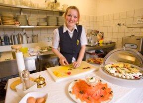 Küchenvorbereitungen
