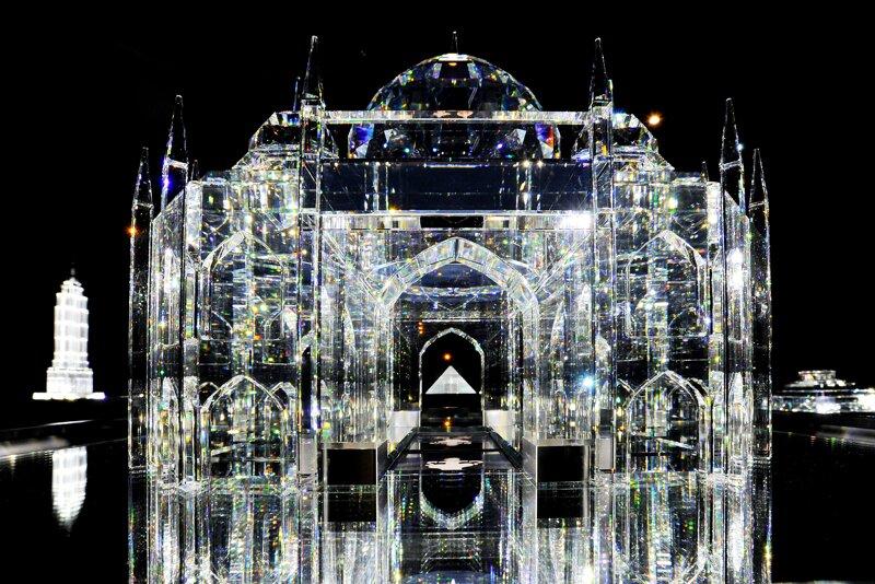 Kristallepalast in den Swarovski Kristallwelten Wattens