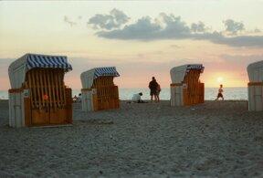 Wa 11 Strand Abend © Irma Schmidt