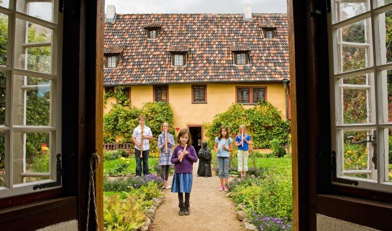 Innenansicht Bachhaus Eisenach