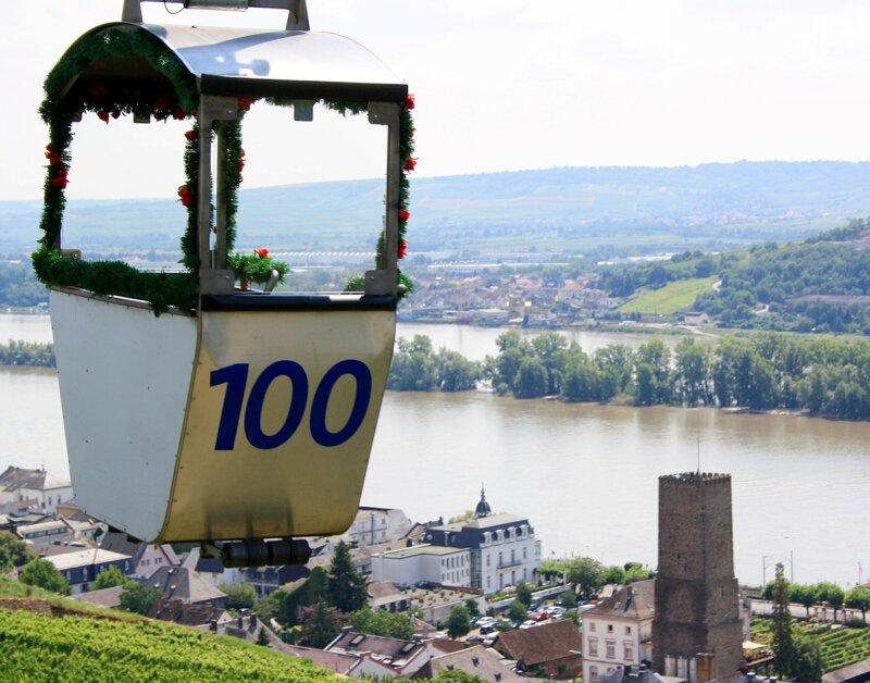 Seilbahn in Rheingau
