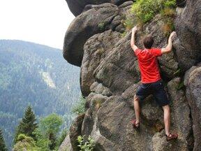 Klettern im Okertal
