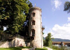 Diebsturm mit Rheinblick