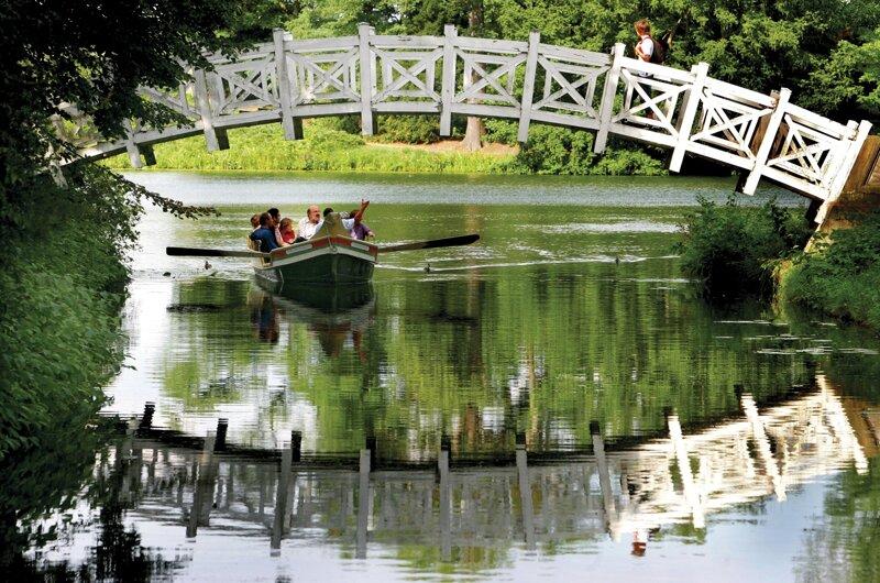 Boot im Gartenreich Dessau-Wörlitz