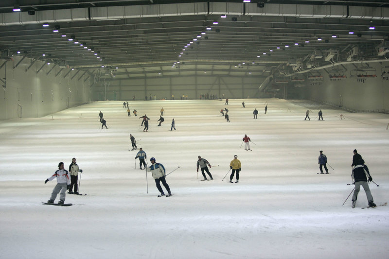 Skipiste Snow Dome Bispingen