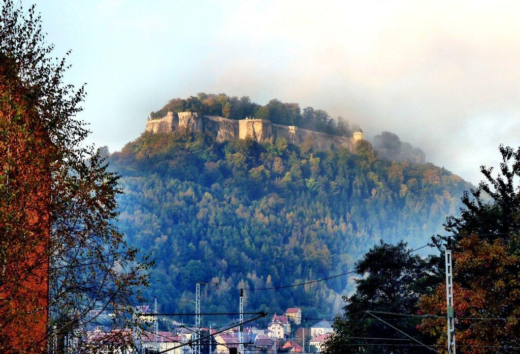Blick zur Festung Königstein c Pixabay