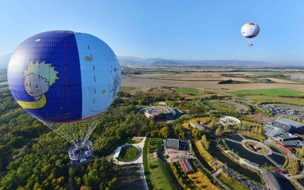 Heißluftballone Parc du Petit Prince
