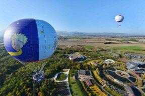 Heißluftballone c @operaprince, Parc du Petit Prince (1)