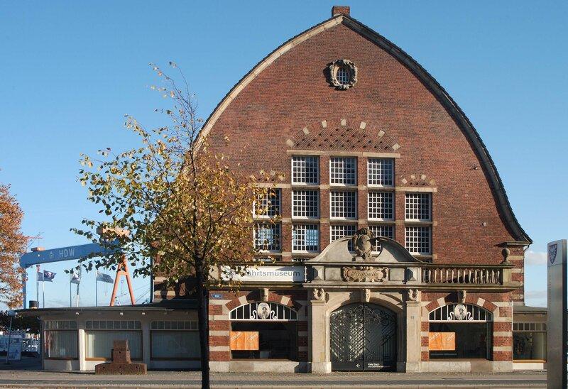 Front Kieler Schiffahrtsmuseum