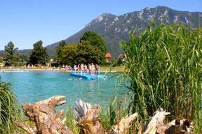 inzell sommer badesee panorama wasser 01 c Inzeller Touristik
