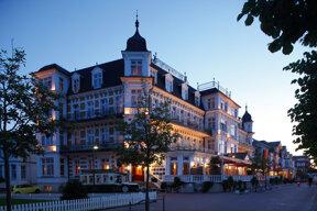 Bäderarchitektur im Ostseebad Ahlbeck