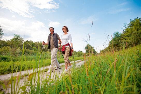 Bad Füssing Natur Nordic Walking  Kur- und Gästeservice Bad Füssing