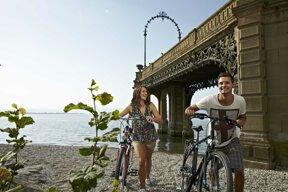 Fahrradtour am Bodensee C Tourist-Information Friedrichshafen
