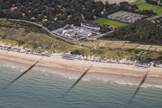 Luchtfoto Strandhotel Westduin 12102015