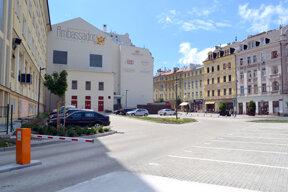 Grandhotel Ambassador-Parkplatz