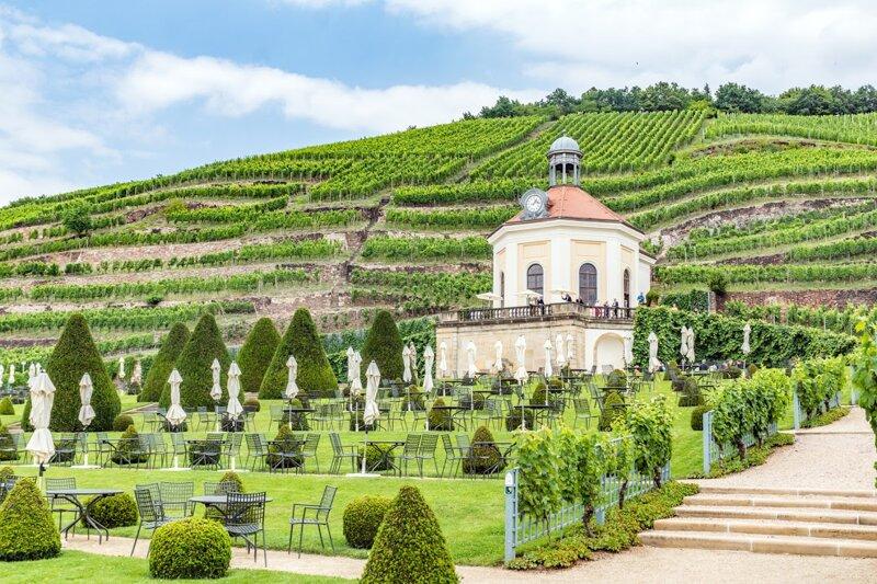 Weingut Wackerbarth in Radebeul bei Dresden