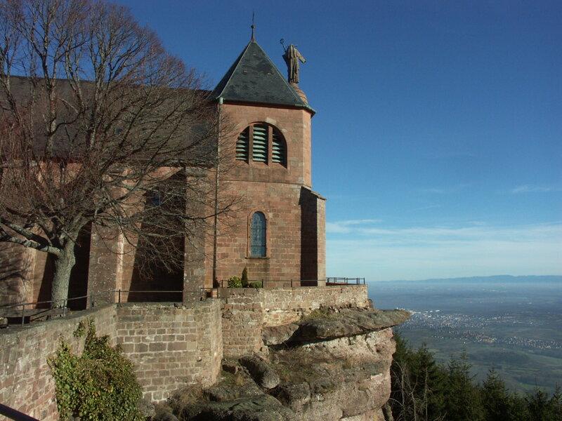 Odilienberg, Wallfahrtsort im Elsass
